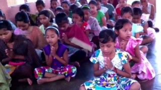 Ved mantra recitals by tribals at Arya Samaj, Nagaland