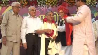 Sh Surendra Ji Ka Abhinandan || Holi Mangal Milan Samaroh 2011 || Arya Samaj