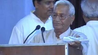 Speech | Shri Sehgal Ji | Sarvadeshik Sabha Shatabdi Sadharan Adhiveshan |