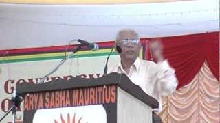 Speech – Shri Madan Arya Ji || International Arya Mahasammelan 2013 ||