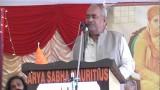 Speech – Prof. Ram Prakash Ji    Arya Samaj