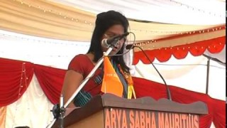 Speech – Smt. Pratibha || International Arya Mahasammelan 2013 || Arya Samaj