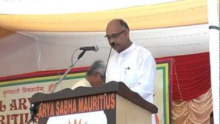 Speech – Shri Ravindra Shivpal || International Arya Mahasammelan 2013 || Arya Samaj