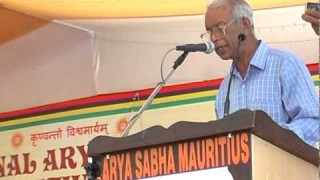 Speech -Shri Prahlad Ramsaran || International Arya Mahasammelan 2013 || Arya Samaj
