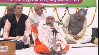 Br. Sumedha Acharya Ji (Rishi Bodh Utsav Evam Shivratri 2015)