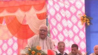 Speech of Dr. Darshanlal Azad