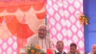 Speech || Dr. Darshanlal Azad || Arya Samaj